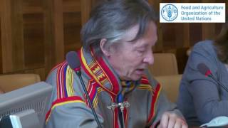 www.planttreaty.org http://www-test.fao.org/plant-treaty Message of Mr. Lars-Anders Bear Former president of the Sami Parliament in Sweden and the president ...