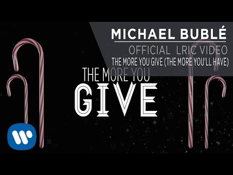 The More You Give (The More You'll Have) [Lyric Video]