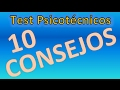 10 CONSEJOS PARA SUPERAR UN TEST PSICOTECNICO