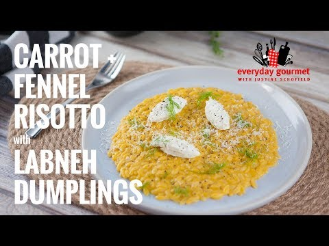 Carrot Fennel Risotto | Everyday Gourmet S7 E58
