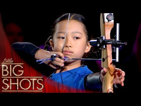 9 Year Old Future Olympian Archer! 🏹  @Best Little Big Shots