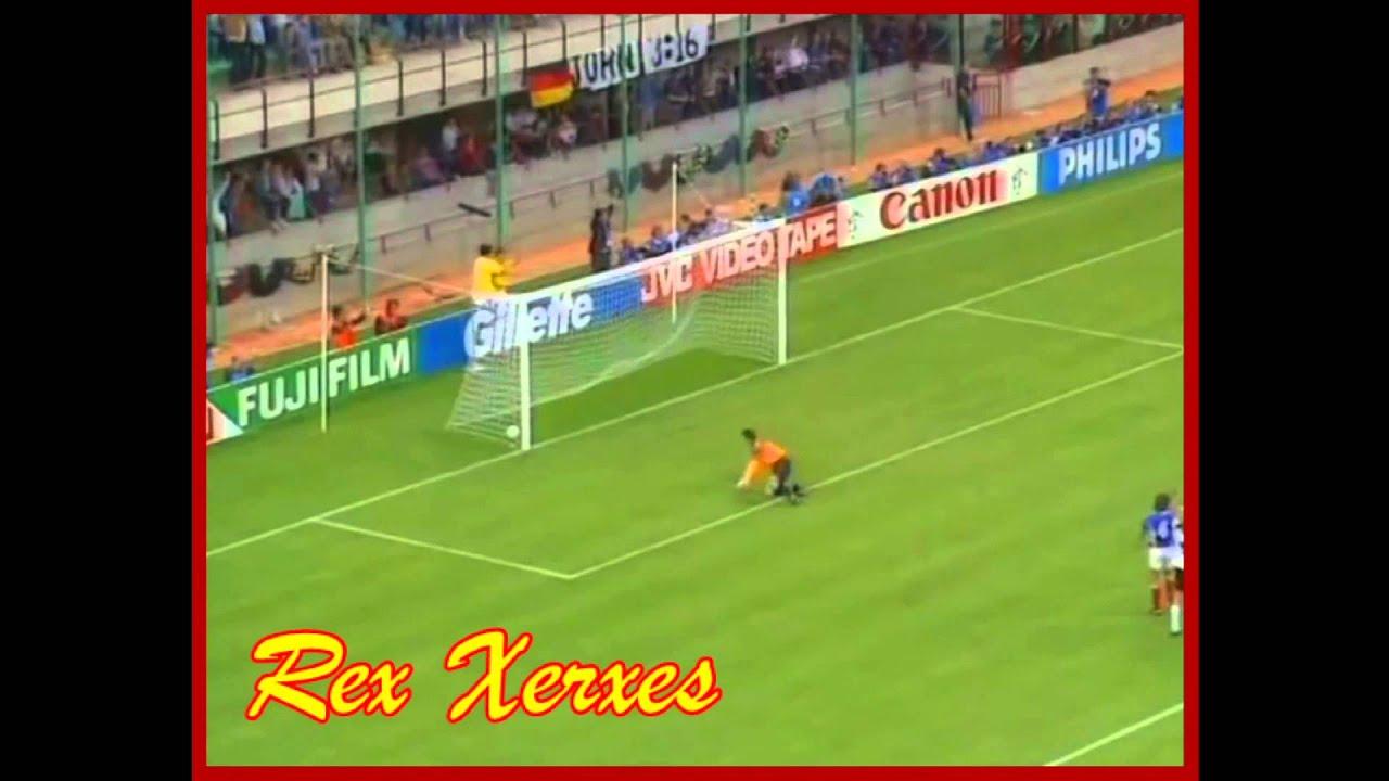 Germany vs Yugoslavia W Cup 1990 Lothar Matthaus's Goal  HD