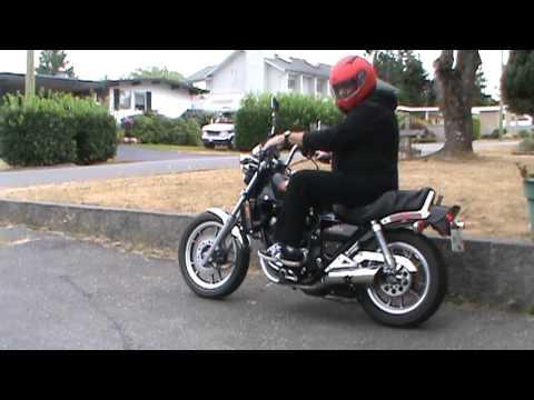 Honda V30 Magna 1984 (видео)