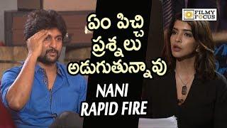Video Nani Angry on Manchu Lakshmi in Live Interview    Nani Rapid Fire    Devadas Team Interview MP3, 3GP, MP4, WEBM, AVI, FLV Januari 2019