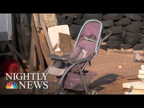 Secret Tunnel Discovered At New Mexico Compound Where 11 Kids Were Kidnapped | NBC Nightly News (видео)