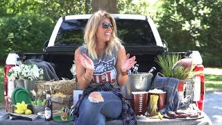 LIVING WITH LANDYN: SIMPLE TAILGATE SETUP