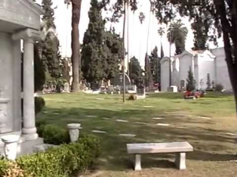 Cemetery - A tour of Hollywood Forever Cemetery in Hollywood, California. Many famous people are buried here. By, George Vreeland Hill.