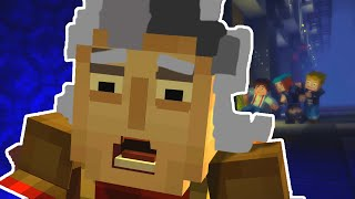"""Minecraft Story Mode - EPISODE 6 - TIME TRAVEL!? """"A Portal to Mystery"""""""