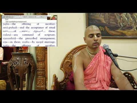 How to Effectively Control Illicit Desires? | Śrīmad Bhāgavatam [4.26.4] by Tattvavit dasa