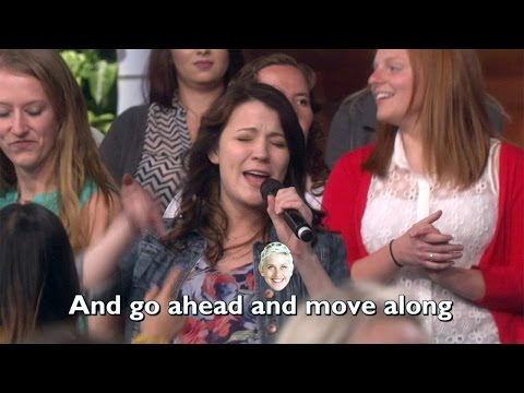 Ellen's Audience Is 'All About That Bass'