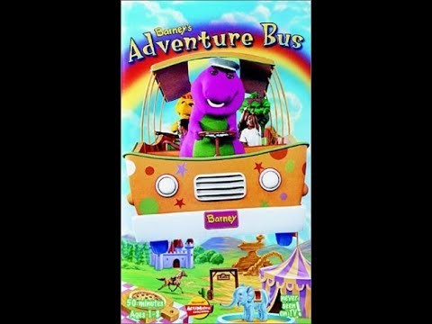 Barney's Adventure Bus (2000 VHS Rip)