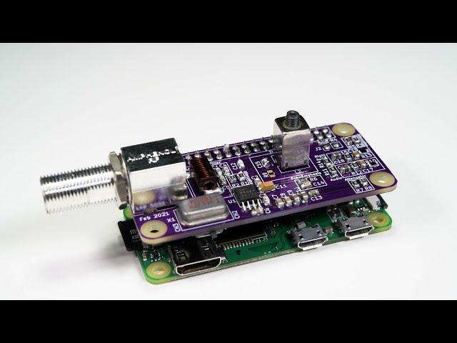 Raspberry piからRF変調したビデオとオーディオを出力するモジュール