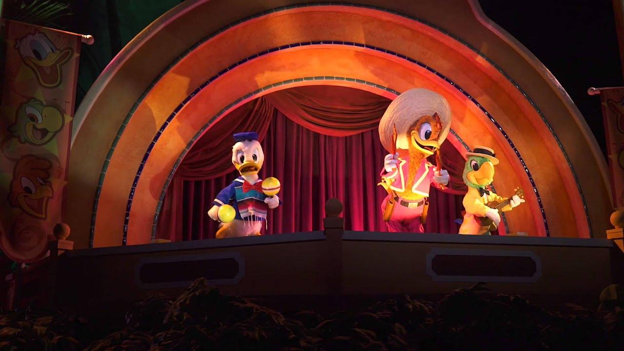 New animatronic finale at Gran Fiesta Tour