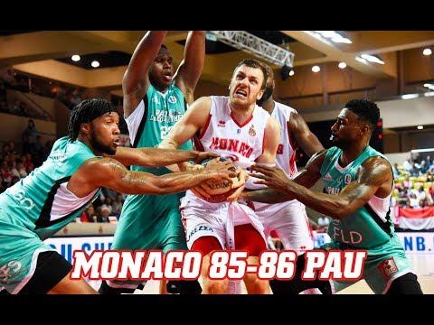 Jeep Elite — Monaco 85 - 86 Pau Orthez — Highlights