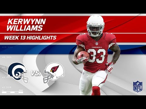 Video: Kerwynn Williams' Big Day of Rushing vs. LA! | Rams vs. Cardinals | Wk 13 Player Highlights