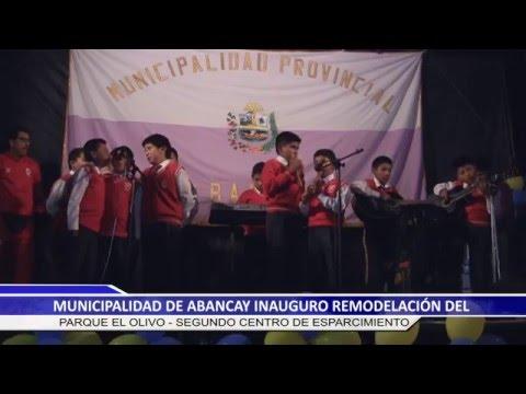 INAUGURACION PARQUE EL OLIVO