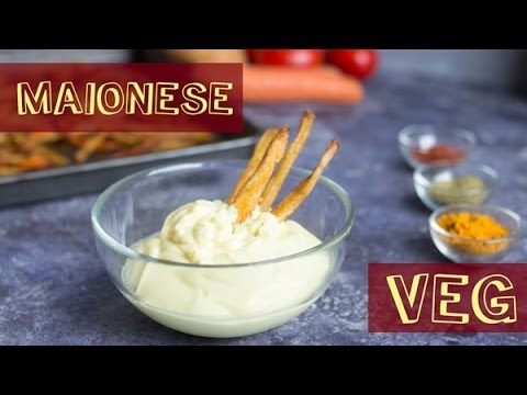 maionese senza uova - ricetta vegana