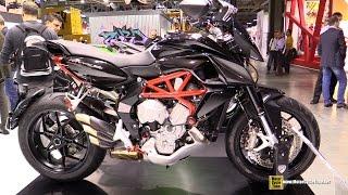 10. 2015 MV Agusta Rivale 800 with CNC Racing Accessoires - Walkaround - 2014 EICMA Milan Moto Show