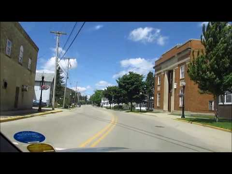 Drive Edgerton Wisconsin on U.S. Highway 51, 53534 (видео)