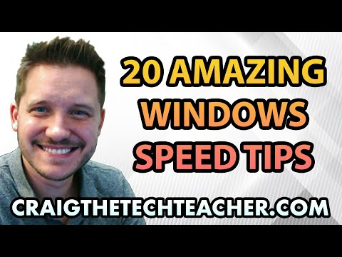 Window - For complete step-by-step instructions and links visit (UPDATED 08/20/13): http://www.pcmtechhelp.com/2011/07/16/20-amazing-windows-7-performance-boosting-ti...