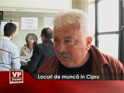 Locuri de muncă în Cipru