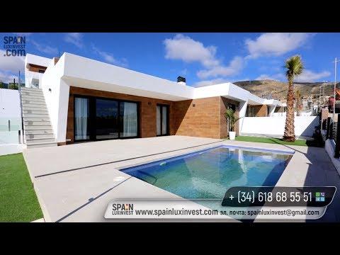 Desde 295.000 €. Villas modernas en una zona de lujo con vistas al mar en Benidorm (Finestrat)
