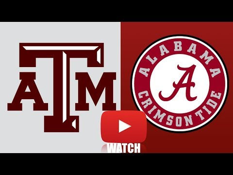 Texas A&M vs Alabama Week 4 Full Game Highlights (HD) - Thời lượng: 10:47.