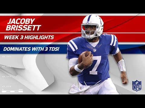 Video: Jacoby Brissett's 3 TD Game vs. Cleveland | Browns vs. Colts | Wk 3 Player Highlights