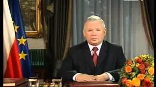 Orędzie wyborcze – jarosława kaczyńskiego parodia