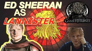 Ed Sheeran played as a lannister soldier in the latest episode of GoT, he also sang an amazing song. Right click the video and check