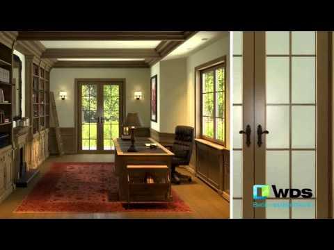 Ламіновані вікна WDS