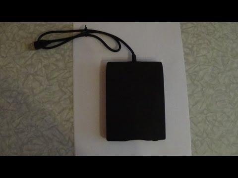 ExternaL USB 3.5 Zoll FLOPPY-DISK-DRIVE - Externes USB 3,5 Zoll FLOPPY-Disketten-Laufwerk