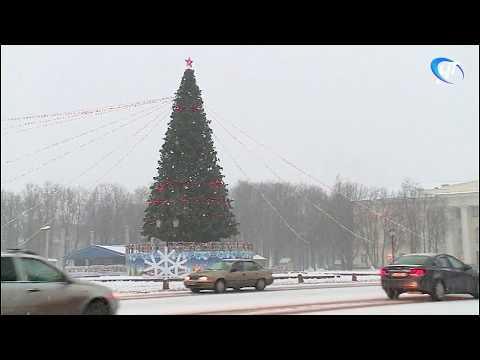 Областной центр и отдельные районы накрыл снегопад