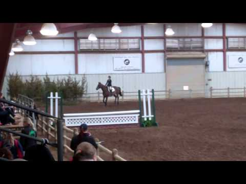 Alison Radgowski's Winning Ride in Team Intermediate Fences - 4/6/14