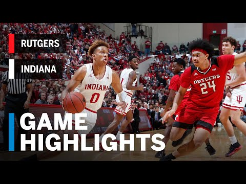 Highlights: Juwan Morgan Scores 25 in Senior Day Win | Rutgers at Indiana | March 10, 2019