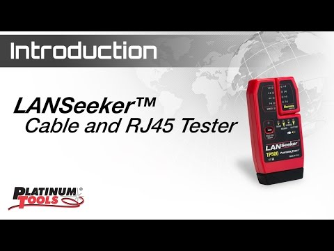 LANSeeker™ - Cable Tester and RJ45 Tester