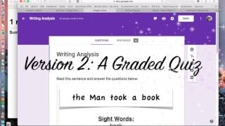Assessment with Google Forms