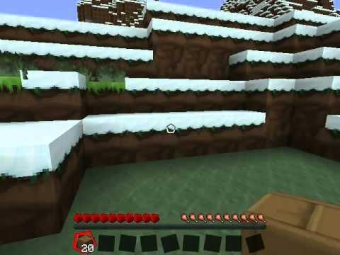 Minecraft Rehberi Bölüm 1 İlk Gece hayatta kalmak,Alet-Kapı yapımı-Meşale