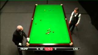 Judd Trump - Cao Xin Long (Frame 9) Snooker International Championship Q 2013 - Round 1
