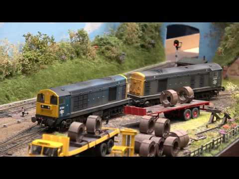 Modelling Railroad Toy Train Track Plans -Awesome Derby Model Railway Exhibition 2018 – Part 2