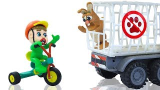 Video SUPERHERO BABY RESCUES BUNNY RABBIT PET 💖 Play Doh Stop Motion Cartoons MP3, 3GP, MP4, WEBM, AVI, FLV April 2019