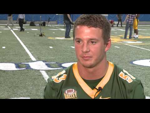 Kyle Emanuel Interview 8/6/2014 video.