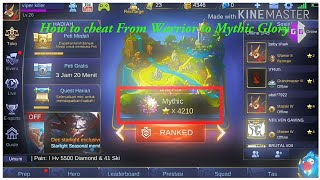 Video Cara mengubah Rank WARRIOR KE MYTHIC | Tutorial GameGuardian MP3, 3GP, MP4, WEBM, AVI, FLV Juni 2018