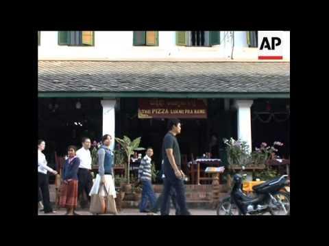 Mass tourism threatens cultural centre of Laos