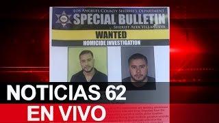 Buscan a principal sospechoso en Downey. – Noticias 62. - Thumbnail