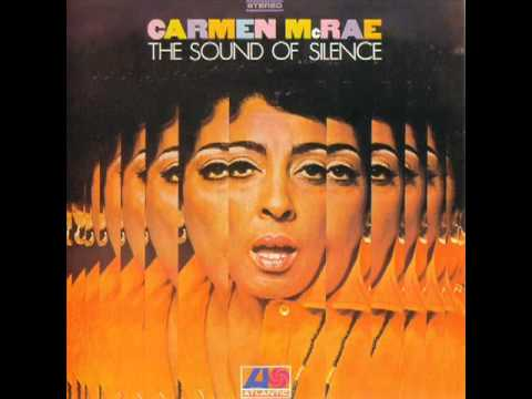 Tekst piosenki Carmen McRae - The Sound of Silence po polsku