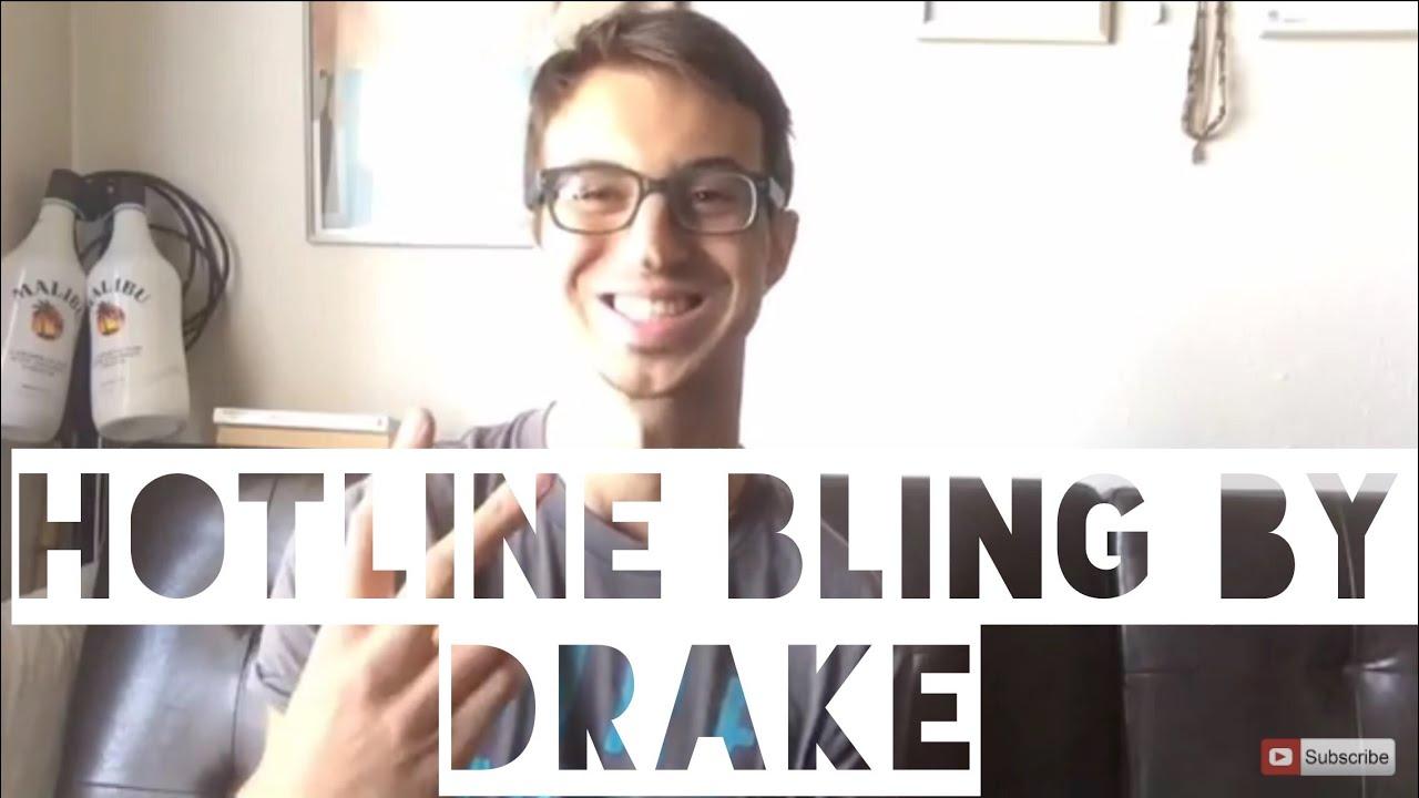 Hotline Bling by Drake Guitar Tutorial! (For Beginners!)