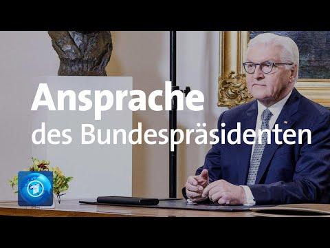 Coronavirus Ansprache von BundesprГsident Steinmeier