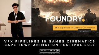 Recorded during the Cape Town Animation Festival 2017 - I showcase some of my recent work in the Intro for Deep Silver/Dambuster's HomeFront:The Revolution, the Trailer for Ubisoft/Ivory Tower's The Crew: Calling All Units and CCP's EVE: Valkyrie HTC Trailer.