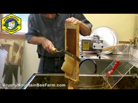Uncapping Honey with a Hot Knife